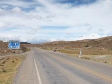 Die Cordillera Real zeigt sich doch noch, leider etwas spät