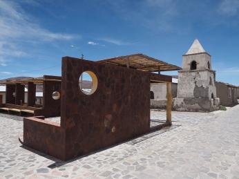 Die total überstylte Plaza von Esquelga