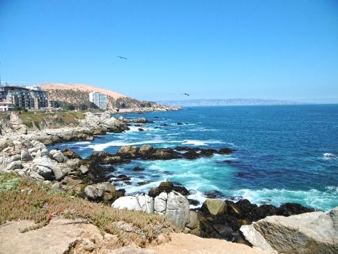 Ich nähere mich Viña del Mar