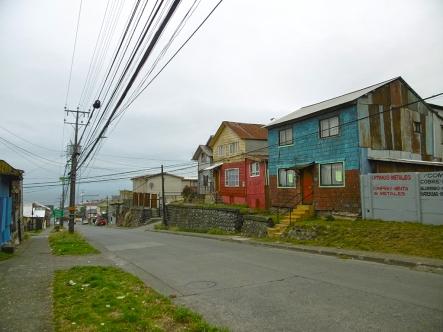 In den trüben Strassen von Puerto Montt