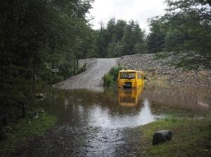 Die Camping-Ausfahrt