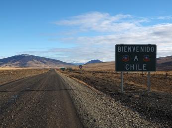 Und wieder einmal mehr fahre ich nach Chile