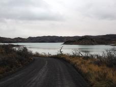 Abfahrt zum Lago Pehoé