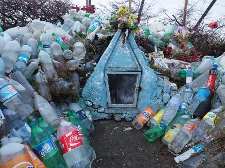 Links unten, meine Coca-cola Light Flasche. Que te vaya bien!