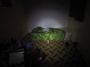 Mein Heim in Morro Chico. Ich brauche mal eine Kerze...
