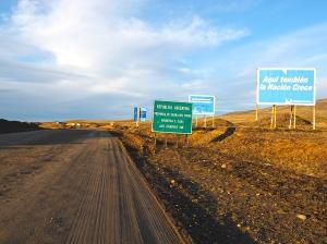 Und ein letztes Mal geht's per Rad von Chile nach Argentinien