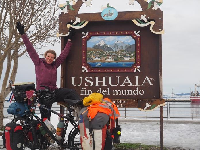 Ich habe es geschafft! Ushuaia!