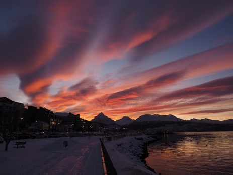 9.30 Uhr morgens in Ushuaia
