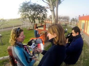 Interview für den Canal 6