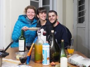 Mit Ines und Fer in Villa Crespo