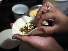 Die Empanada-Schule: füllen