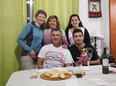 Mit Fatima, Marce, Julio und Martin. Gracias!