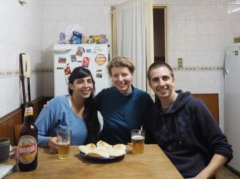 Mit Gisela und Franco in Rosario