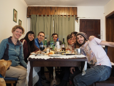 Mit Giselas Familie in Colon