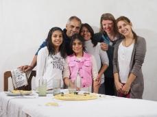 Bettas Familie in Bovril. Muchas gracias!