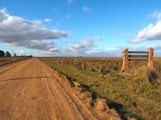 Einfahrt ins Naturreservat Esteros del Iberá