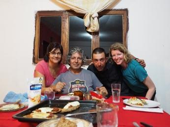 Mit Isabel und Jorge in Libertad