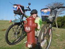 Wir finden einen Hydranten