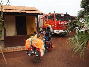 Auch in Paraguay sind die Bomberos Voluntarios ein Klasse für sich