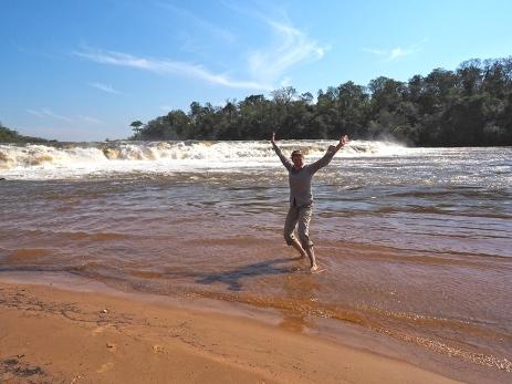 Bei der Cachoeira Pirapo. Ein schönes Fleckchen Erde.