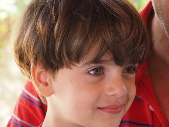 João mit seinen wunderschönen Augen