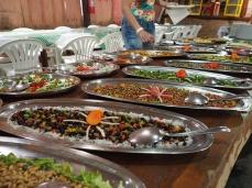 Das reichhaltige und leckere Mittagessen