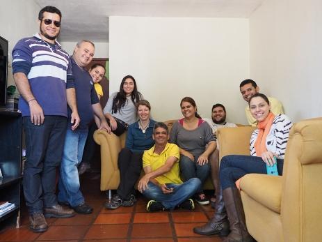Mit Elias, seiner Familie und Freunden