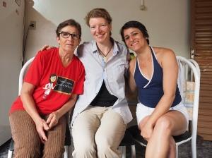 Mit Gersandrya und ihrer Mama. Muito obrigada!