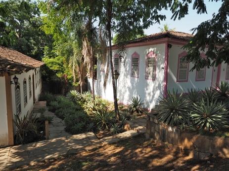 ... und koloniale Gebäude