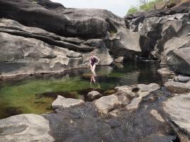 Mit erfrischenden Bademöglichkeiten im ersten Pool