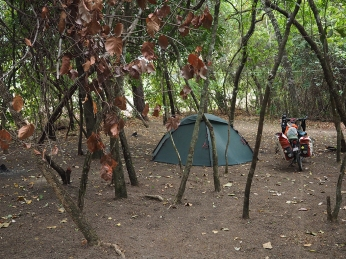 ... und wieder auf den Camping