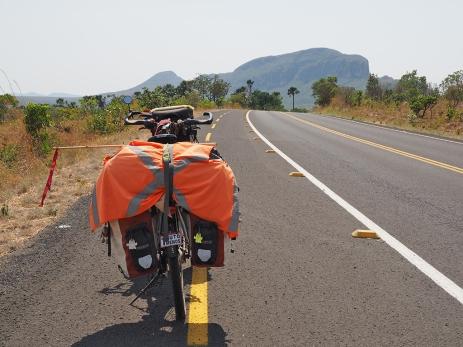 Zwischen São Jorge und Alto Paraiso hat es tatsächlich eine Ciclovia