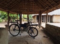 Natürlich geht auch hier ohne Rad nichts...