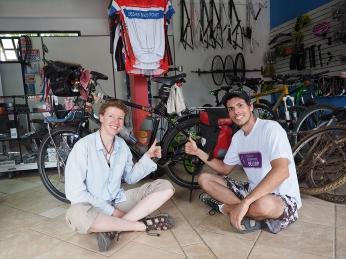 Mit Cesar con Cesar Bike Point