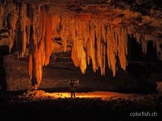 Nach der absoluten Dunkelheit folgt Ramiros Spiel mit der Höhle