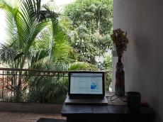 Mit Büro mit Ausblick