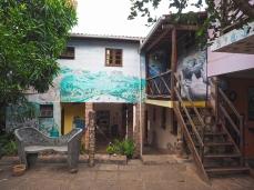 Die verschiedenen Gebäude der Pousada