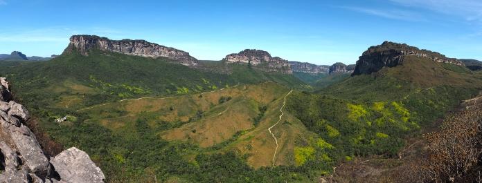 Blick vom Mirante do Pati ins Vale do Pati
