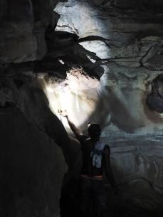Höhle und frisches Trinkwasser