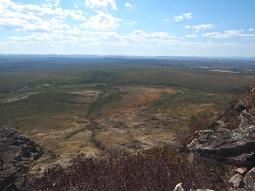 Der Blick ins Tal von Gunié, adios Chapada Diamantina!