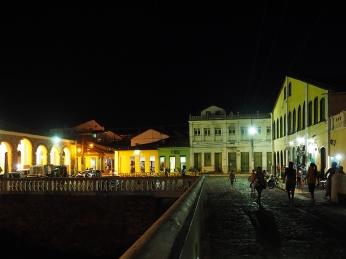 Die Praça das Nagôs von Lençóis