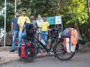 Mit dem Team von der Estacion ecologica