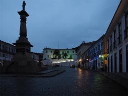Die Praça Tiradentes mit Blick auf den Palacio dos Governadores
