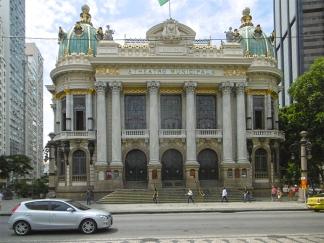 Das beeindruckende Teatro Municipal