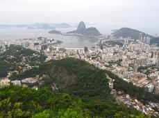Spektakulärer Ausblick auf Rio vom Mirante Dona Marta