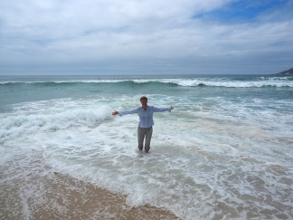 Beachtime bei der Praia Pratinha inklusive Atlantikbad