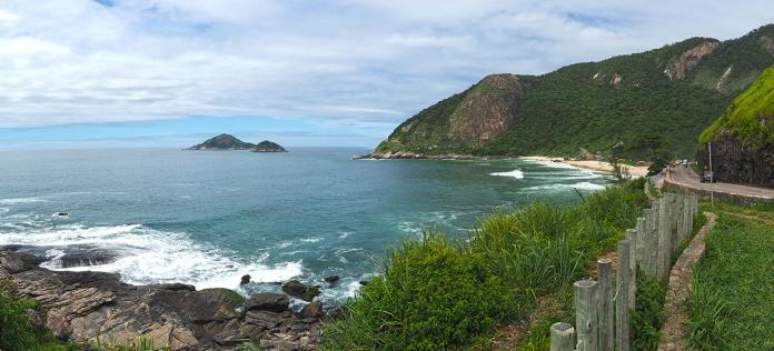 Blick auf die Praia Pratinha