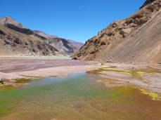 Die Farbpalette der Lagune ist fast endlos