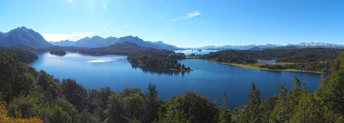 Ein wunderbarer Blick über den Lago Nahuel Huapi