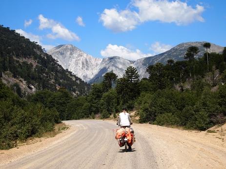 Aurakarien und Berge, eine schöne Kombination